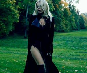 blonde, fashion, and gothic image