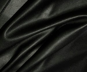 black, fabric, and leather image