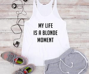 blonde, design, and etsy image