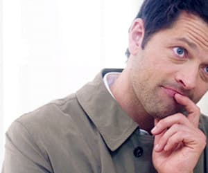 lucifer, gif, and castiel image