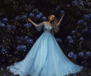 dress, fantasy, and girl image