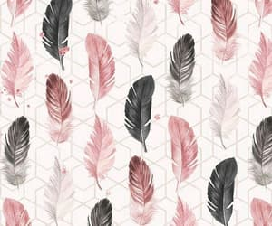 feathers, wallpaper, and pastel image
