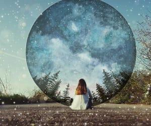 dreams, bluesky , and fantasy image