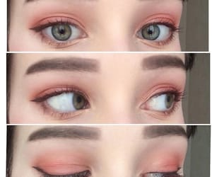 colourful, spring, and eyebrow image