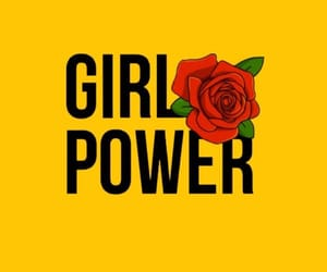 wallpaper, background, and girl power image