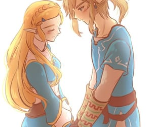 blush, happy, and holding hands image