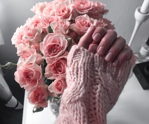aesthetic, flowers, and nails image