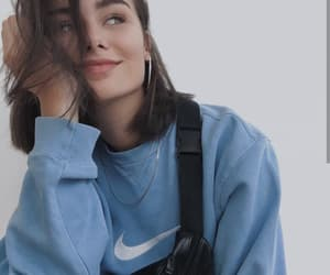 girl, nike, and beautiful image