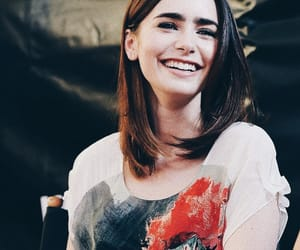 lily collins, city of bones, and actress image