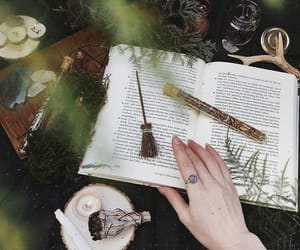 crystal, magic, and nature image