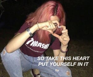 aesthetic, girl, and grunge image