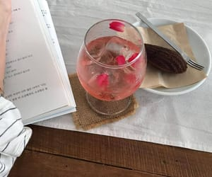 book and drink image