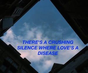 aesthetic, dark, and Lyrics image
