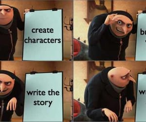 Build, characters, and create image