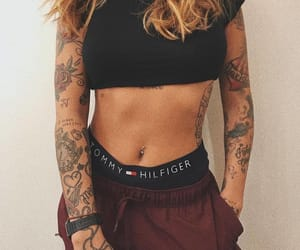 tattoo, girl, and fashion image