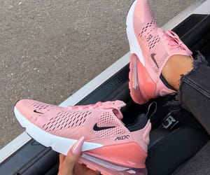 nike, sneakers, and pink image