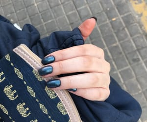 blue, nails, and Y image