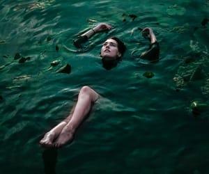 water, dark, and fantasy image