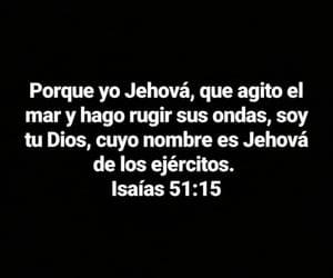 isaías 51:15, jehová de los ejércitos, and rugir ondas image