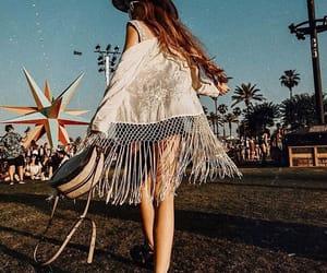 coachella, spring, and dance image