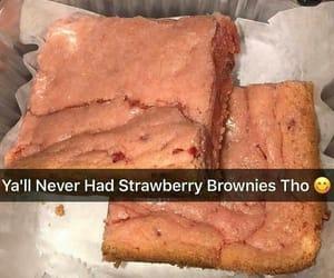 strawberry brownies image