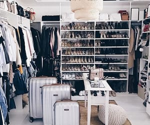 closet, clothes, and interior image