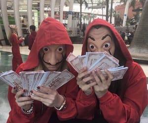 la casa de papel, netflix, and money image