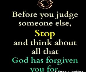 god and don't judge image