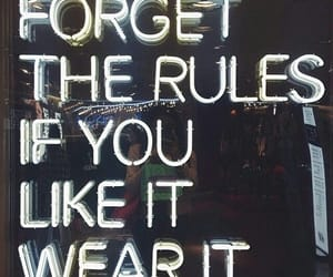 quotes, rules, and clothes image