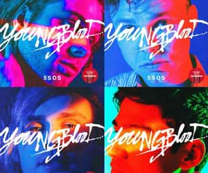 5sos and youngblood image