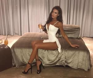 dress, girl, and glam image