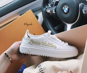 bmw, sneakers, and cool image