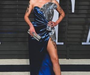 dress, singer, and Vanity Fair image