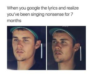 funny, lol, and Lyrics image