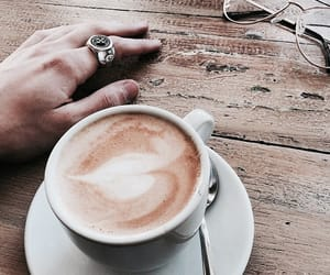 coffee, ring, and tumblr image