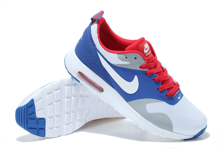 sangre Muelle del puente Consejo  Nike Air Max Thea Print 87 Mens White Teal Grey Royal Blue Red
