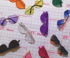 fashion, glasses, and alternative image
