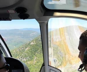 adventures, kourtney kardashian, and helicopter image