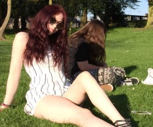 aesthetic, red hair, and tumblr girl image