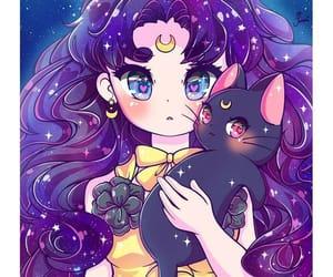 luna and sailor moon image