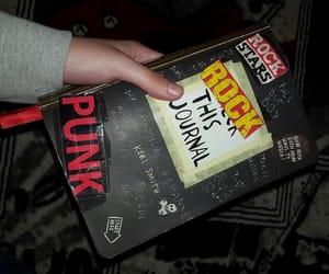 grunge, journal, and punk image