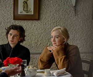 Saoirse Ronan and timothee chalamet image