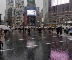 japan, rain, and aesthetic image