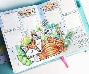 april and bullet journal image
