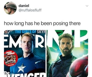 captain america, infinity war, and chris evans image
