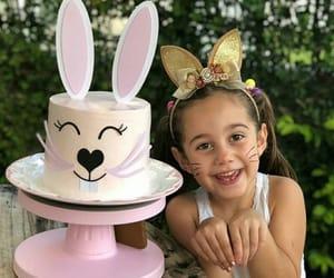 bakery, birthday cake, and bunny image