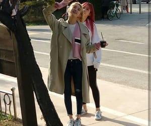 junghwa, heeyeon, and hani image
