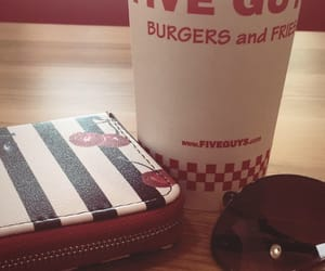 burger, stradivarius, and cherry image