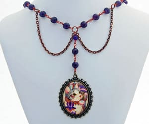 etsy, handmade jewelry, and amethyst necklace image