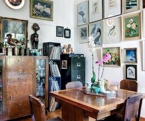 antique furniture, vintage furniture, and vintage dining room image